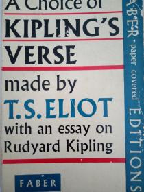 a choice of kiplings verse