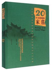 20个古村落的家底(中国传统村落档案优选)