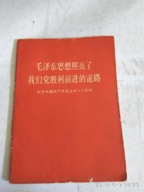 毛泽东思想照亮了我们党胜利前进的道路(无毛林像)
