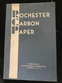 【民国     复写纸】《复写纸》carbon paper 原装一盒(35*23)