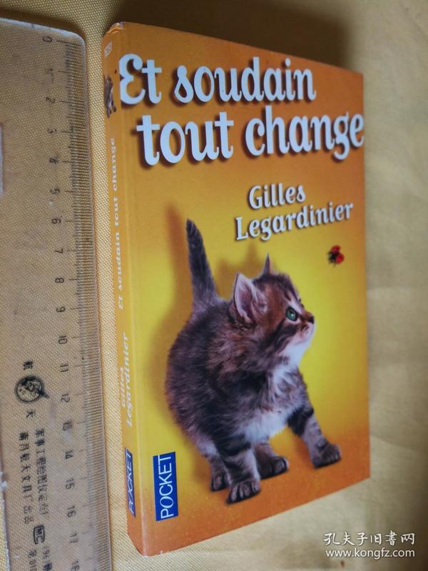 法文原版 吉尔‧勒贾帝尼耶 Et soudain tout change by Gilles Legardinier