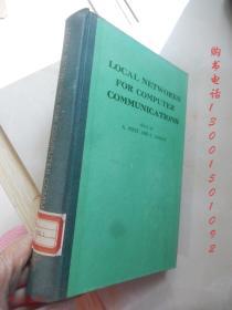 Local Network For Computer Communication【16开精装 英文版】(计算机通信局域网)