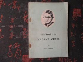 外文书:THE STORY OF MADAME CURIE【居里夫人的故事】