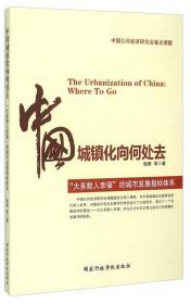"""中国城镇化向何处去----""""大多数人幸福""""的城市发展指标体系"""