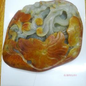 红油洒金皮和田籽玉(1.9公斤)