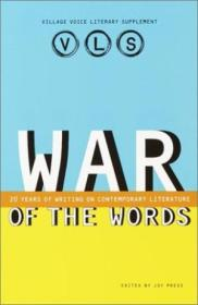 War Of The Words: 20 Years Of Writing On Contemporary Literature