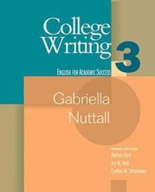 College Writing 3 (houghton Mifflin English For Academic Success) (bk. 3)