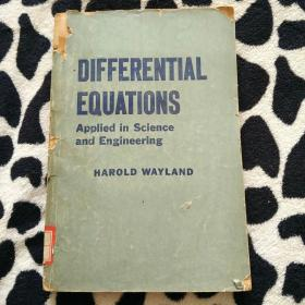 DIFFERENTIAL EQUATIONS Applied in Science and Engineering