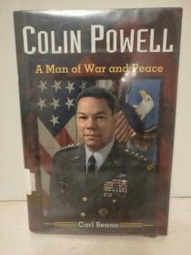 美国前参谋长联席会议主席、国务卿:科林·鲍威尔传  Colin Powell:A Man of War and Peace by Carl Senna (传记)英文原版书