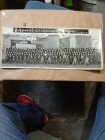 老相片 老照片 华主席和中央领导同志接见新华社国内分社会议全体代表合影1977.9.25【A4-3】
