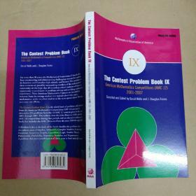 The Contest Problem Book IX: American Mathematics Competitions (AMC 12) 2001–2007 Contests 竞赛问题书九:美国数学竞赛(AMC 12)2001-2007竞赛
