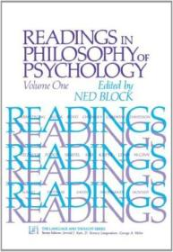 1: Readings In Philosophy Of Psychology  Volume I