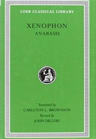 Xenophon: Anabasis (loeb Classical Library) (english And Greek Edition)
