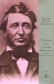 Walden And Other Writings (modern Library Of The Worlds Best Books)