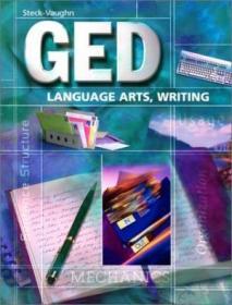 Steck-vaughn Ged: Student Edition Language Arts  Writing