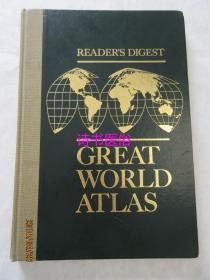 READERS DIGEST ——GREAT WORLD ATLAS (讀者文摘版世界地圖集)