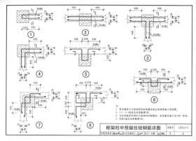 国家建筑标准设计图集(12G614-1·替代06SG614-1):砌体填充墙结构构造