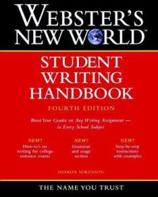 Websters New World Student Writing Handbook