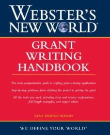 Websters New World Grant Writing Handbook