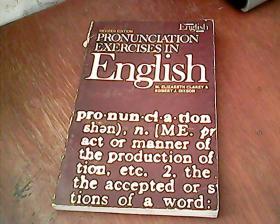 英文原版:PRONUNCIATION EXERCISES IN ENGLISH(英语语音练习)