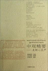根敦群培书系·中观精要:龙树心庄严