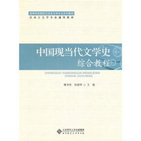 二手正版中国现当代文学史综合教程 傅书华 北师大