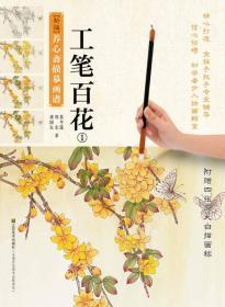 新编养心斋描摹画谱:工笔百花(1)