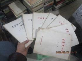 中亚史丛刊:第一期至第七期  贵州师范大学学报增刊  7本合售    全七册   原版     现货 实物图    货号56-6