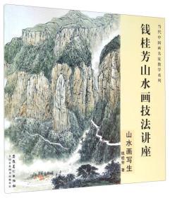 钱桂芳山水画技法讲座 山水画写生