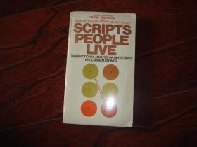 Scripts People Live:Transactional Analysis of Life Scripts【人们生活的脚本,克劳德斯坦纳】 英文原版