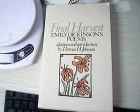 Final Harvest: Emily Dickinson\s Poems
