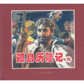 孤岛历险记(精)全4册 共四册