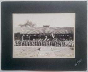 民国初年陆军将校讲习所毕业纪念原版老照片4张合售北京同生照相馆摄历史影像精品