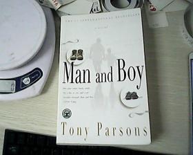 TONY PARSONS:MAN AND BOY