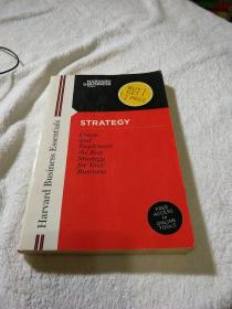 Harvard Business Essentials STRATEGY Create and Implement the Best Strategy for Your Business(哈佛商业必需品战略创造和实施最佳战略)
