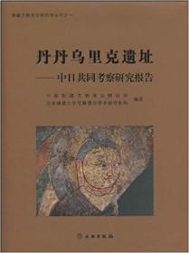 丹丹乌里克遗址:中日共同考察研究报告:report of the Sino-Japanese joint expedition
