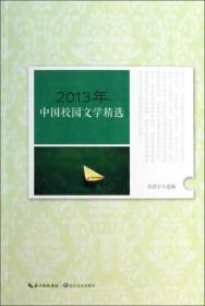2013年中国校园文学精选