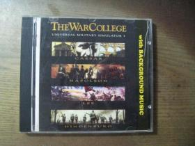 THE WAR COLLEGE  WITH BACKGROUND MUSIC 外国光盘1张
