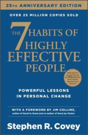 The 7 Habits of Highly Effective People高效能人士的七个习惯 英文原版