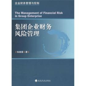 【正版书籍】集团企业财务风险管理