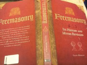 Freemasonry: Its History and Myths Revealed揭示共济会的神话与历史,精装彩图本,九五品