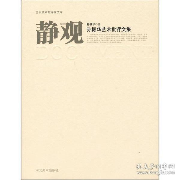 静观:孙振华艺术批评文集