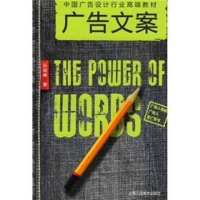 二手正版广告文案:中国广告设计行业高端教材 乐剑峰 上海人