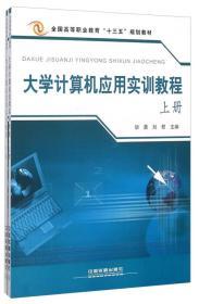 大学计算机应用实训教程 下册