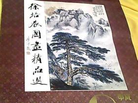 1994年挂历【徐培晨国画精品选】【全13页】