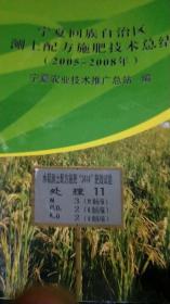 宁夏回族自治区测土配方施肥技术总结  2005-2008