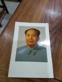 64年毛主席彩色照片