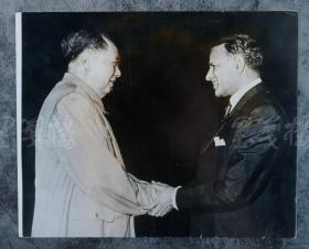 毛主席 1968年老照片一张 HXTX100728