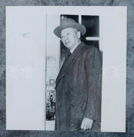 中国近现代著名外交家 顾维钧 1948年老照片一张HXTX100730