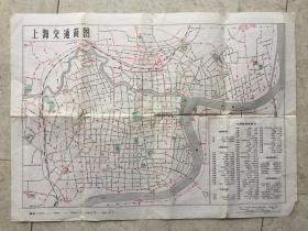 上海交通简图-2张合售